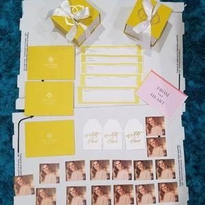 Kendra Scott Gift Packaging Material Bundle